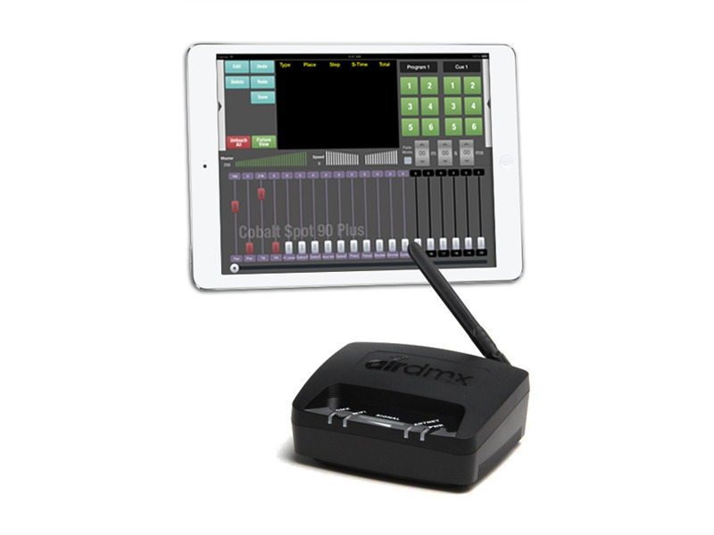 Ipad Dmx Controller Ehrgeiz Airdmx a1 Ipad Dmx