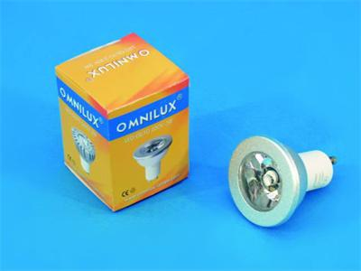 OMNILUX GU-10 230V 3W LED 6500K