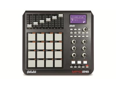 Akai MPD26 USB/MIDI Pad Controller,