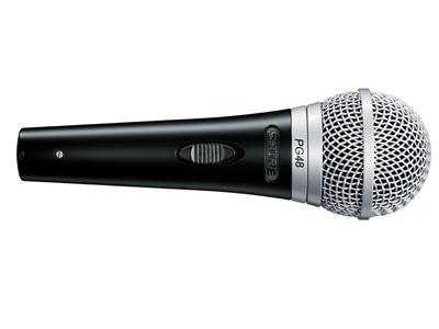 Shure PG48-XLR-B, Niere, dynamisch, mit Schalter