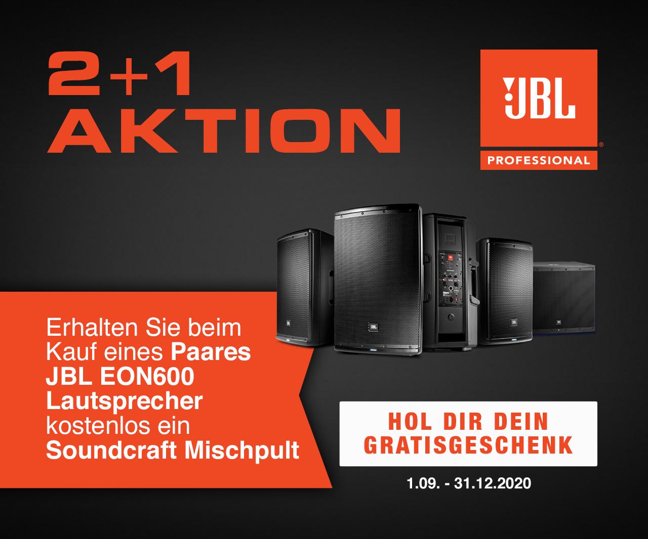 JBL EON 600 + soundcraft