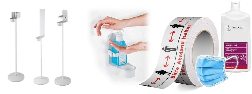 Unser Sortiment zur Hygiene und Desinfektion