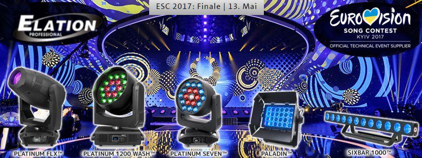 Elation beim Eurovision Songcontest 2017