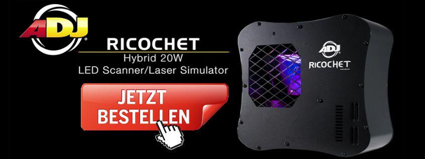 ADJ Ricochet - Deal sichern!