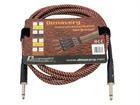 DIMAVERY Instrumenten-Kabel, 3m, braun/rot