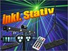 Eurolite LED KLS Laser Bar FX 2x Derbys + 2x Spots + 4x Strobe LEDs + Laser + STATIV