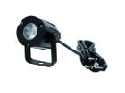 EUROLITE LED PST-3W 3200K 6° Warmweiß schwarz LED Pinspot