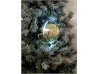 5x Europalms LED Christbaumkugel 8cm, gold