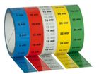 Marker tape 25mm 33mtr 10mtr Red