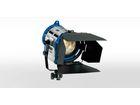 ARRI 650 PLUS, 650W, MAN, blau/silber, Schutzkontakt, Kabel 3m, 4-FT, FFR, 220-250V
