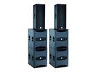 dBTechnologies FLEXSYS Concert System, 2x F212 + 4x SUB18D, 5500W