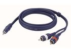 Stereo Mini Jack to 2 RCA Connector 150cm