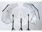 Lastolite LL LU3237F Umbrella All In One 72cm Silber/Weiß
