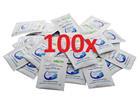 100 Stück CAREMEDI-Tuch - Desinfektionstuch 3ml einzeln verpackt, mit ALOE und Vit.B5