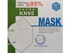 Mund-Nasen-Maske, 4-lagig, einweg, FFP2, komfortable Einweg-Maske, Non-sterile, einzeln