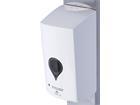 """PROmagiX Sensor-SpenderSäule """"WELL"""" für Desinfektion, weißer Spender, Edelstahlsäule"""