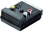 Scartadapter (Stecker/Buchse) lose Ware, 3xCinchbuchse und 4-pol. mini DIN Buchse