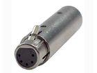 DMX Adapter 3 Pin Male / 5 Pin Female
