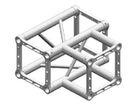 Litec QX25SA T3, 3-Weg T-Stück, 90°, 4-Punkt-Traverse, 25cm, ohne Verbinder