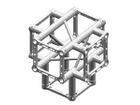 Litec QX30SA X5, 5-Weg Kreuz, 90°, 4-Punkt-Traverse, 25cm, ohne Verbinder
