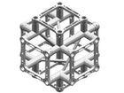 Litec QX25SA X6, 6-Weg Kreuz-Stück, 90°, 4-Punkt-Traverse, 25cm, ohne Verbinder