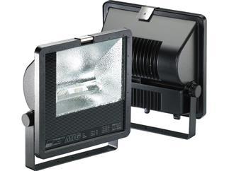 MIG-AS 400 W, E-40, asymmetrisch, HIT,Gehäuse Aludruckguß, schwarz, IP 65