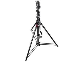 Manfrotto 087NWB Stativ Wind-Up schwarz 3-teilig