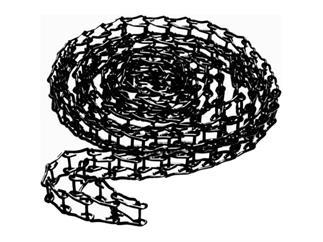 Manfrotto 091MCB Expan-Metallkette Schwarz 3,5m