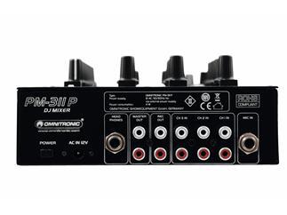 OMNITRONIC PM-311P DJ-Mixer 3-Kanal mit MP3-Player
