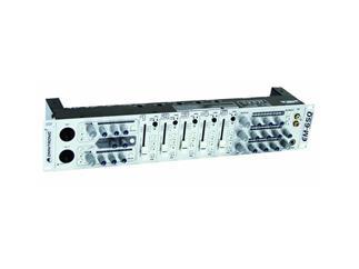 OMNITRONIC EM-650, 5+2 Kanal 3 Zonen Mischer silber