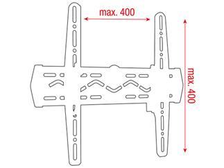"DMT PLB-3255 - LCD-Wandhalterung 32""-55""max. VESA400, +5/-15°Neigbar"