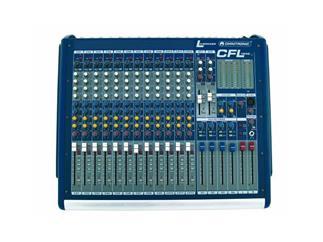 OMNITRONIC CFL-1242 Live-Mischpult mit 4 Aux sends Gruppen
