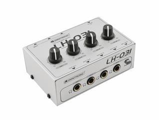 OMNITRONIC LH-031 Kopfhörer-VerstärkerOMNITRONIC LH-031 Kopfhörer-Verstärker