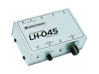 OMNITRONIC LH-045, Mini Mic Preamp