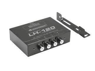 OMNITRONIC LH-120 Dual-Stereo-Umsetzer - Passiver CAT-5-Umsetzer