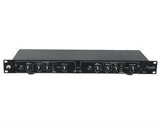 Omnitronic DYN-220 Kompressor/Limiter - 2-Kanal mit Noise-Gate