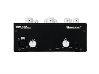 OMNITRONIC TRM-202MK2 2-Kanal Rotary-Mixer