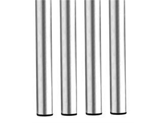 Global Truss Steckfüße rund 3mm 50cm für Stage Desk 4er Set