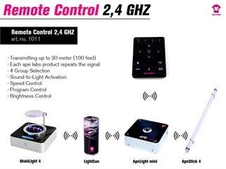 Fernbedienung WFR-1 für Ape Labs Mobilight 4, light can