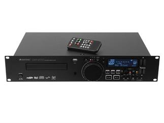 Omnitronic CMP-2001 Single-CD-/MP3-Player mit Aufnahme-Funktion für DJs