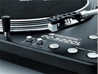 OMNITRONIC DD-5220L Plattenspieler schwarz