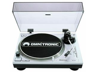 OMNITRONIC BD-1550 Plattenspieler silber