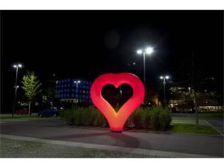 Hülle Heart rot