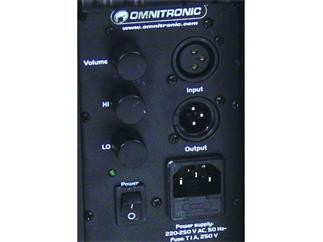 """OMNITRONIC C-50A,5"""" Box,aktiv,sw / Paar"""