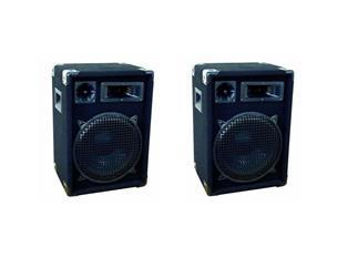 1 Paar OMNITRONIC DX-1222 3-Wege Box, 300 W