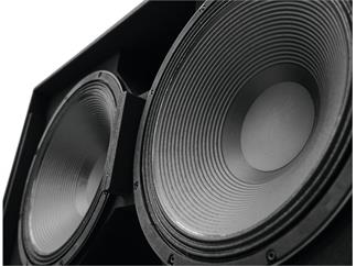 PSSO K-182 Subwoofer 2000W RMS 2x18""