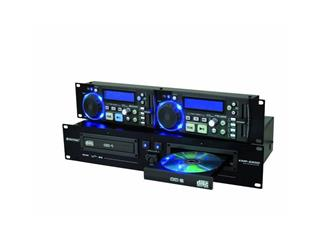 OMNITRONIC XMP-2800 Dual-CD/MP3-Player