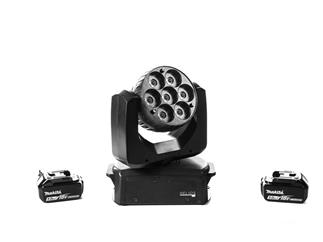 Ehrgeiz LED Helios 7B Moving-Head 7 x 15W RGBW LEDs