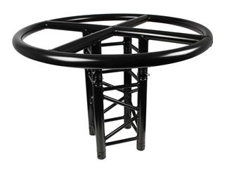 Global Truss F34 TOP RING 100 stage black