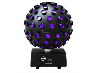 American DJ Starburst Spiegelkugeleffekt mit 5x15W RGBW Yellow Pink LED